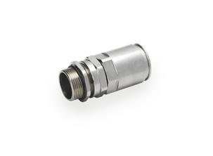 Cable gland for rigid metal conduits