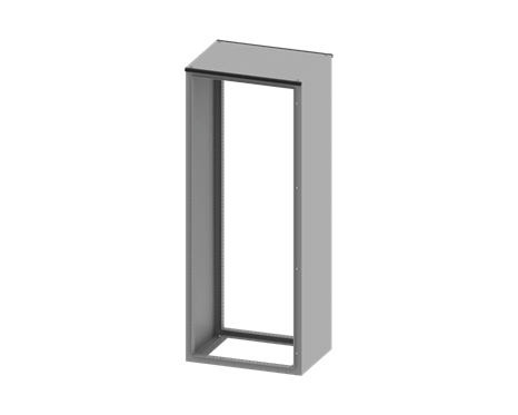 CAE Compact Cabinet Structure only 1000x1000x300