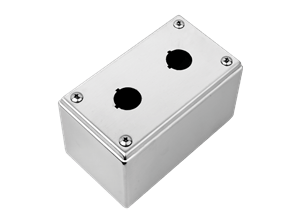 Stainless steel junction boxes for Push-Bottons