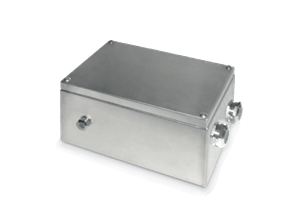 Stainless steel boxes for tunnels - Single pole cables