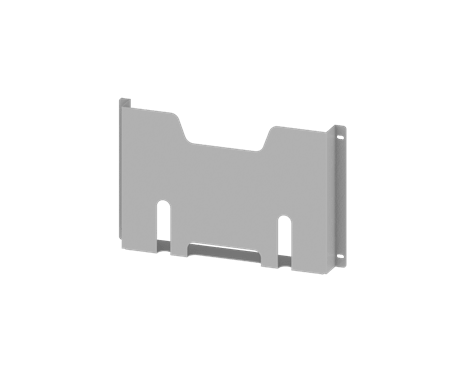 Pocket for wiring diagrams, mountable to blank doors, for CQE,  CAE