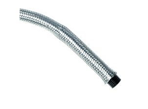 PA D protected by stainless stell braided sleeving - 5001-TX
