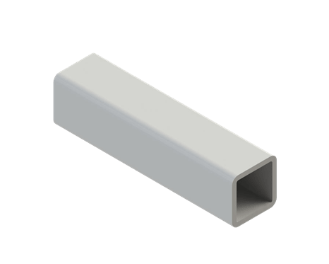 80x80 mm square pipe L1000